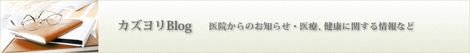 カズヨリBlog